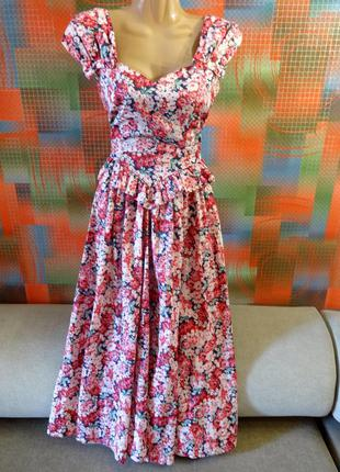 Платье asos laura ashley