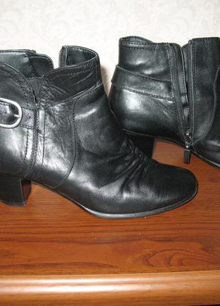 Кожаные ботинки footglove 36р.(23см. стелька)