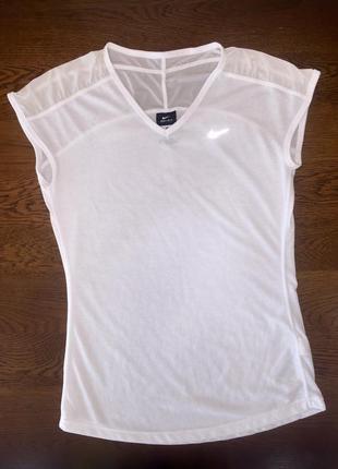 Белая футболка nike (оригинал)