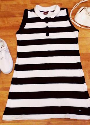 Стильное, молодежное платье поло.