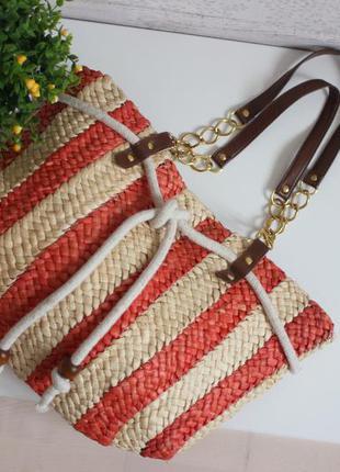 Плетенная сумка, бренд atmosphere