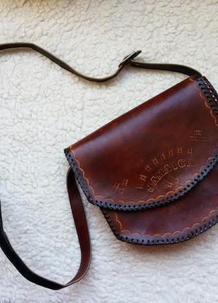 Стильная дизайнерская сумка кроссбоди