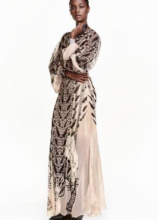 Шикарное платье h&m studio