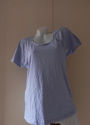 Хлопковая футболка tcm tchibo