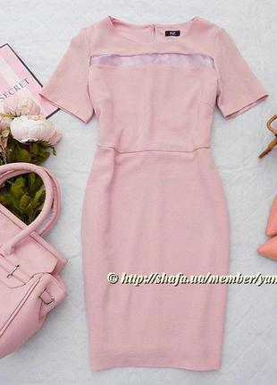 Нежное платье f&f, размер 12 (см. замеры)