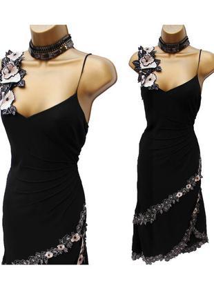Шикарное платье натуральный шёлк (m, l)