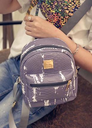 Новый рюкзак с разводами