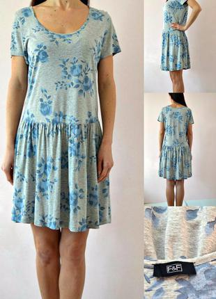 Легкое трикотажное платье 14(l)