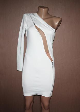 Оригинальное мини платье №109