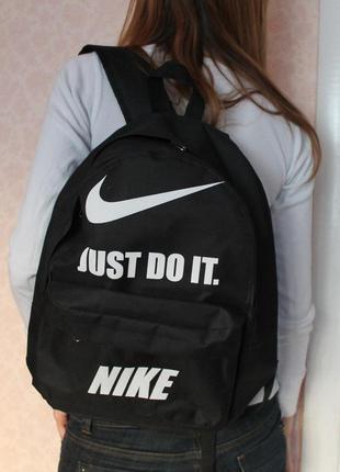 Новый рюкзак 40 на 34 на 12 см, черный