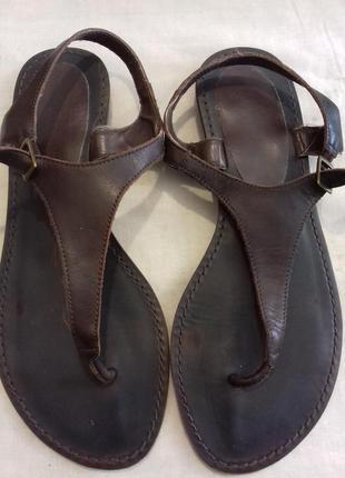 Кожаные босоножки сандали next 38 размер