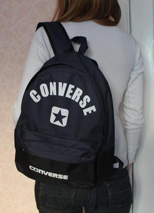 Новый рюкзак 40 на 34 на 12 см, сине-черный