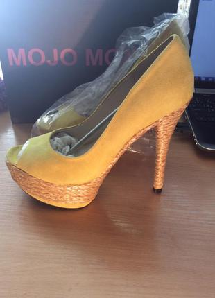 Красивейшие туфли натуралочки mojo moxy