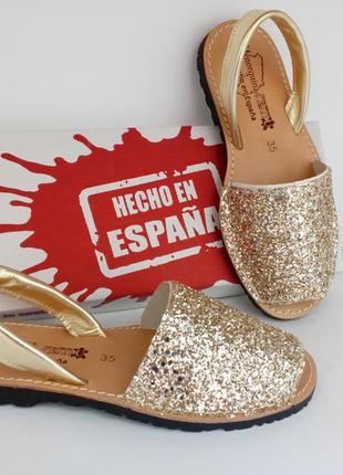 Менорки с блестками, золото, тм menorguina в наличии! новые ,производитель испания!