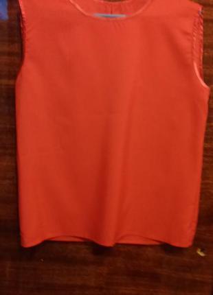 Красная блуза, размер s-m