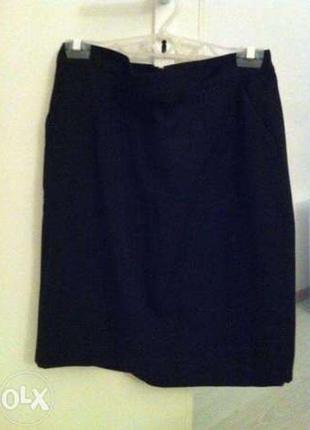 Продам черную классическую юбку vero moda