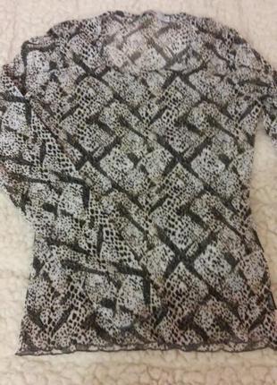 Блуза из эластичной сеточки, s.oliver.