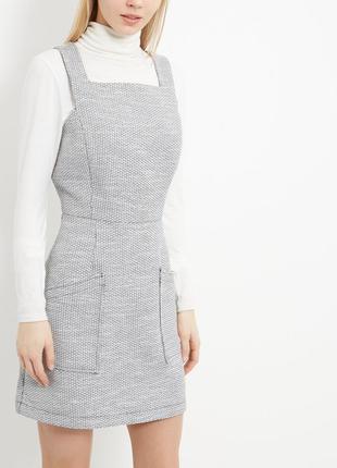 Новое платье  в монохромный принт с карманами new look