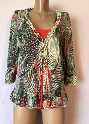 Необычная блуза рубашка фирменная распродажа
