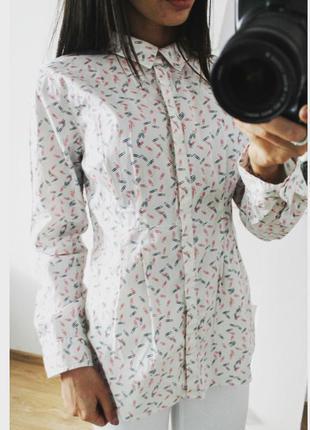 Рубашка в скрепочки 149 грн!