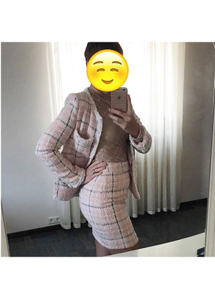 Chanel твидовый костюм