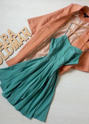 Нереально красивое ментоловое платье vero moda