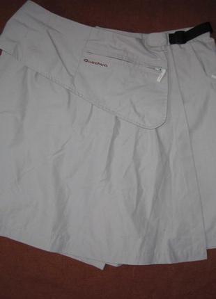 Quechua (xl) треккинговые шорты юбка женские