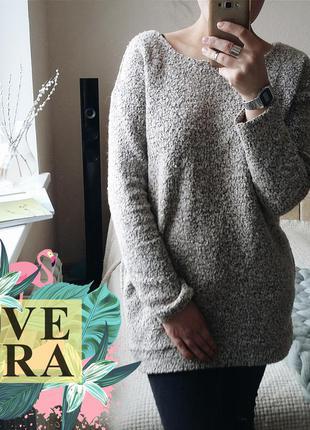 Очень крутой свитер барашек. next