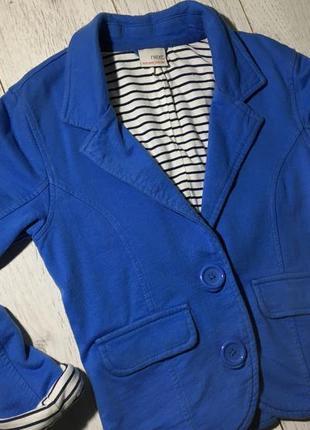 Пиджак синий next
