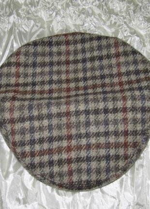 Кепка шапка твидовая exclusive tweedmill 52,5 см