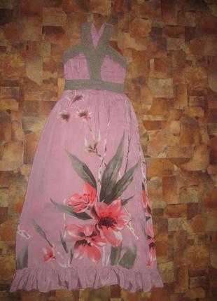 Платье летнее в пол