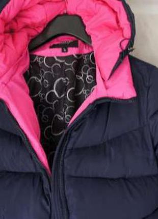 Теплый женский пуховик куртка