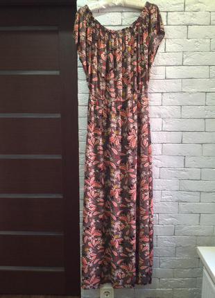 Платье h&m,макси