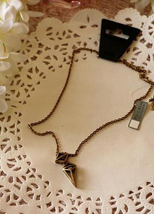 Колье с кристаллами pilgrim дания элитная ювелирная бижутерия ручной работы
