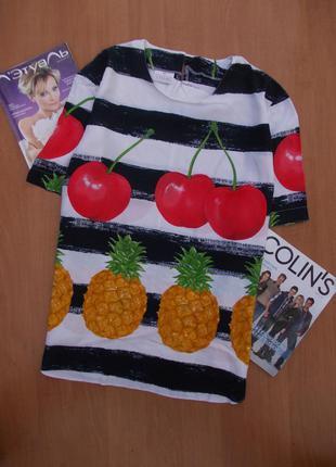 Оригинальная легкая блузка