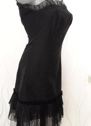 Платье черного цвета. размер 40.