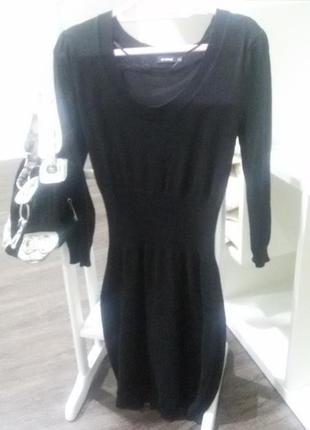 Класична сукня до колін, сумка в подарунок