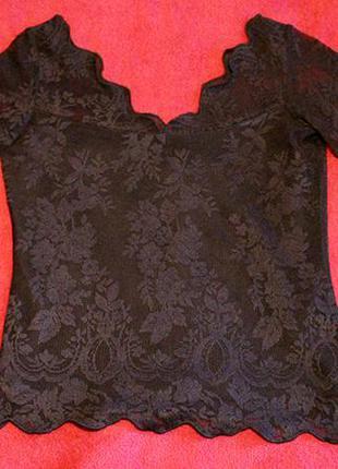 Женская кружевная блуза s.oliver