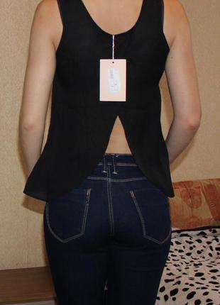 Нарядна брендова блузочка,шифонова,нова