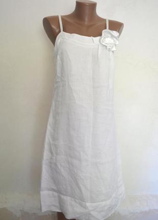 Платье белое летнее
