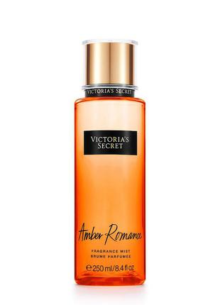 "Спрей, мист для тела victoria's secret ""amber romance"", 250ml"