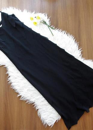 Вечернее, коктейльное платье со спадающими рюшами на бретельках на подкладке