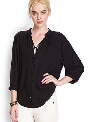 Forever 21 блуза с завязками