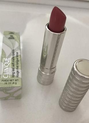 Новая помада clinique long last matte lipstick  #50 matte beauty
