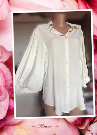 Нежная нарядная блузка(рубашка). состояние новой!