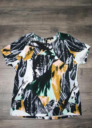 Очень стильная блуза m/l