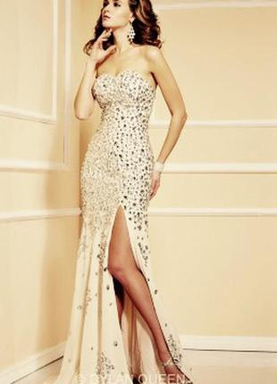 Оьалденно красивое выпускное, вечернее, свадебное платье