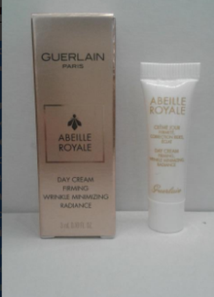 Дневной крем guerlain abeille royale day cream (пробник) 3 мл