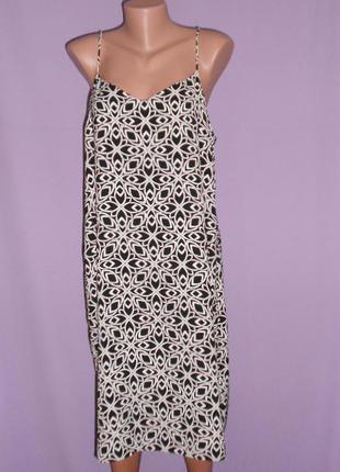 Шикарное платье-сарафан 16 размера