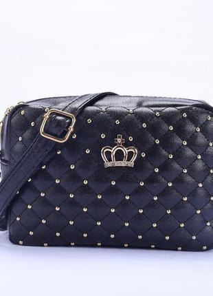 Шикарная сумка с коронкой